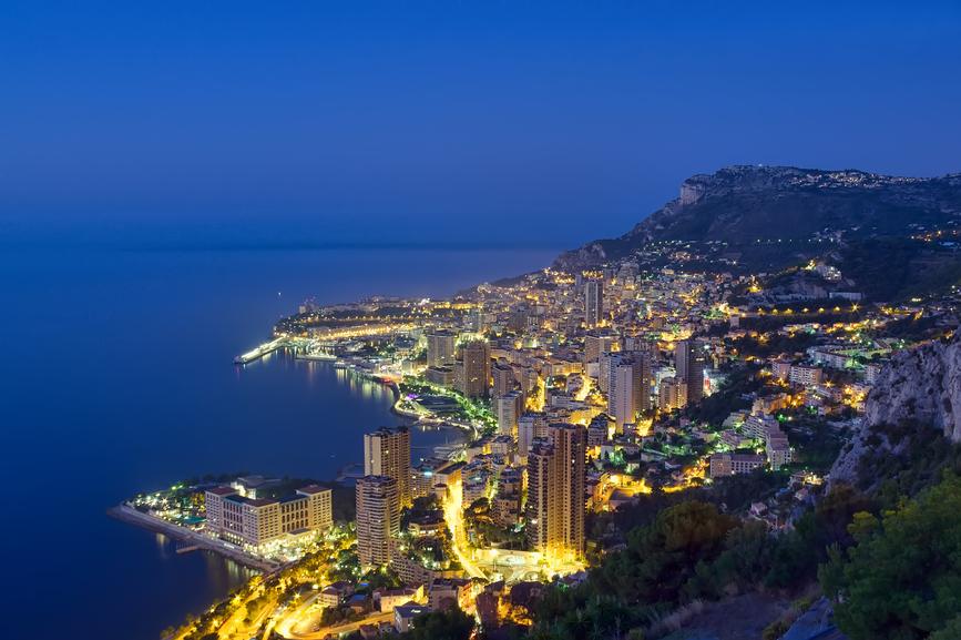 MONACO 2019 - INSCRIPTIONS PRONOSTICS - TOURNOI ATP Monaco_at_Night